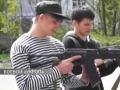 В Одессе открыли военно-патриотический лагерь для старшеклассников