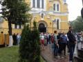 Во Владимирском соборе проходит литургия по случаю крещения Киевской Руси