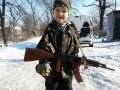 День в фото: Дебальцево после ухода сил АТО и малыш-сепаратист