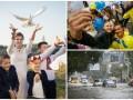 Неделя в фото: День мира в Киеве, встреча паралимпийцев и потоп в Одессе