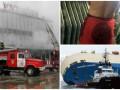 День в фото: пожар в Ужгороде, пляжный сезон в троллейбусе и неуправляемый сухогруз в океане