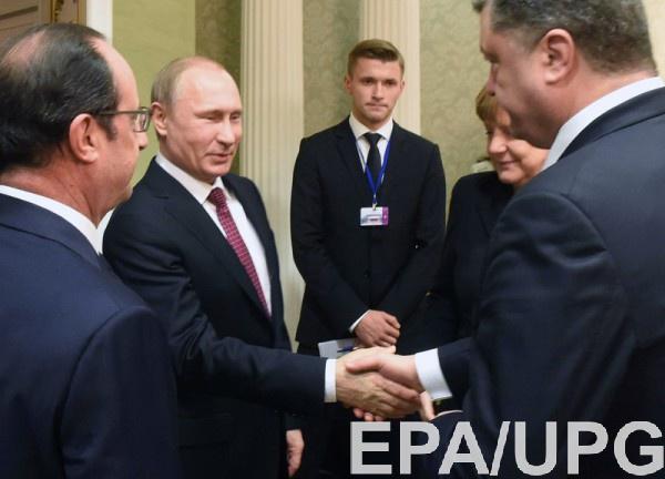 С Путиным Волкер встречался лишь раз