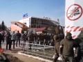 В Харькове на рынке Барабашово произошли столкновения со стрельбой