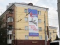 В Брянске к 9 мая повесили плакат с американским истребителем