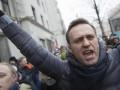 В Москве на митинге против Путина задержали Навального