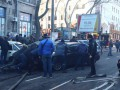 Пожар колледже: Одесситы оттащили авто, мешавшее тушить огонь