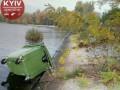 В Киеве выбросили в Днепр альтфатеры с мусором