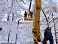 В Украине без света 174 населенных пункта