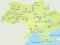 Грозы сквозь солнце: как изменится погода в Украине
