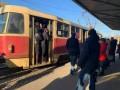 В Николаеве избили водителя, не пускавшего в трамвай более 10 человек