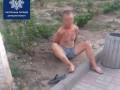 На Донбассе дебошир с топором напугал горожан и повредил машину