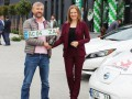 В Украине на электромобилях появились зеленые номера