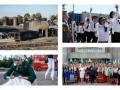 День в фото: как на нефтебазе потушили пожар, а на Болотной шили флаг РФ