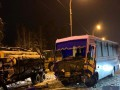 Под Киевом из-за ДТП образовалась километровая пробка