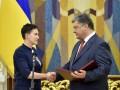 Савченко хочет вернуть Порошенко звезду Героя