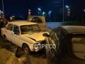 В Киеве полицейская погоня закончилась масштабным ДТП