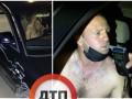 В Киеве копы ночью гонялись за пьяным виновником аварии