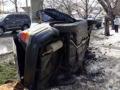 В Одессе автомобиль врезался в электроопору, есть погибшие