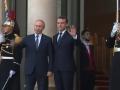 Путин прибыл в Елисейский дворец