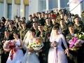 Морпехи из Феодосии сыграли три свадьбы сразу