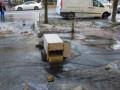 В Голосеевском районе Киева прорвало водовод