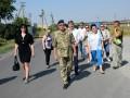 Делегация из Грузии посетила пункт пропуска на Донбассе