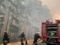 Площадь лесных пожаров в Украине возросла в 40 раз