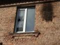 В Киеве ночью неизвестные подожгли здание Киевтранспарксервиса
