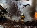 В России возле жилых домов разбился пассажирский самолет