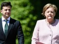 Зеленский провел телефонные переговоры с Меркель
