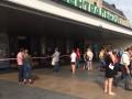 В Киеве с ж/д вокзала эвакуировали более тысячи человек