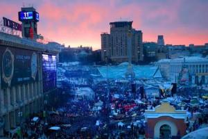 Евромайдан: украинцы проявляют чудеса самоорганизации