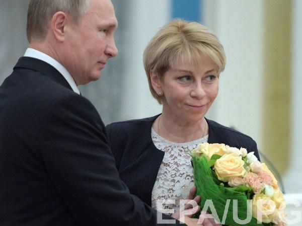 Елизавета Глинка (Доктор Лиза) с Владимиром Путиным