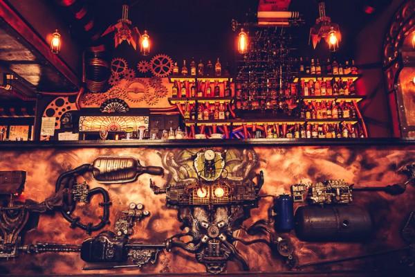 Энигма: кинетический стимпанк-бар (ФОТО+ВИДЕО)