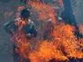 В Луганской области по случаю конца света безработный совершил самосожжение