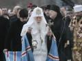 К Филарету на 90-летие приехали Гройсман, Ющенко и Епифаний
