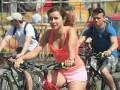 Киев сел на колеса: Крещатик стал гигантским велотреком (ФОТО)