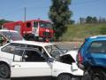 В Запорожье произошло тройное ДТП, есть погибшие
