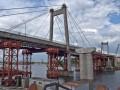 В Киеве девушка упала с Рыбацкого моста в дыру в асфальте