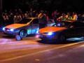 В Ровно уличные гонки закончились столкновениями с полицией