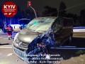 Под Киевом пьяные друзья врезались в бус: В авто был младенец