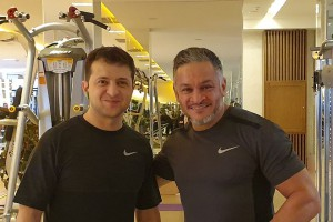 """""""Он тоже любит спортзал!"""": Зеленского снова застали в спортзале"""