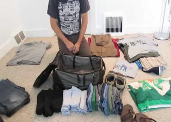 Как аккуратно упаковать чемодан