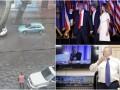 День у фото: Перемога Трампа, тост Жириновського і зливи в Одесі
