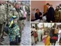День в фото: парад защитников во Львове, Порошенко в госпитале и продавец цветов в Бангладеше