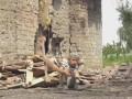 В Сети показали последствия артиллерийского обстрела Первомайского