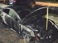 В Ровенской области сожгли автомобиль гражданину Беларуси