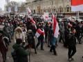 В Минске продолжаются акции протеста против интеграции с Россией