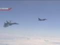 Самолет Шойгу над Балтикой сопровождали польские истребители