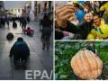 День в фото: Встреча паралимпийцев, тибетские монахи и тыква-гигант
